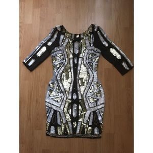 River Island Embellished Mini Dress